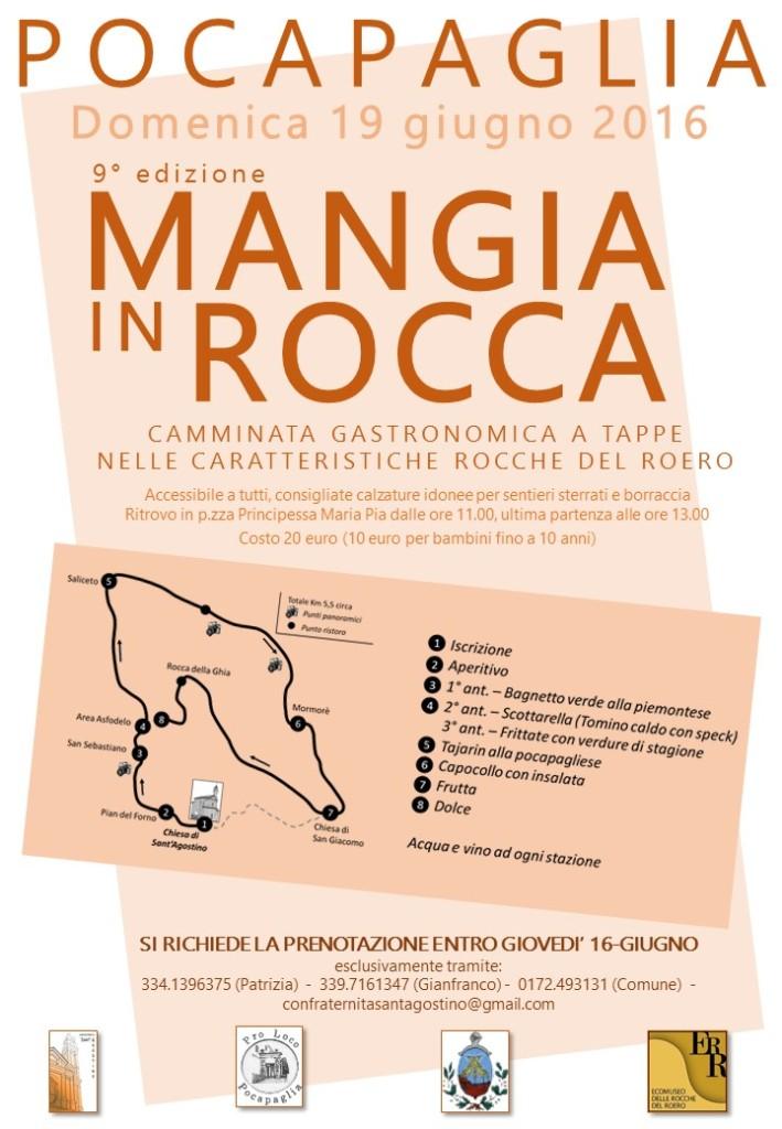 Pocapaglia - Mangia in Rocca 19.06.16