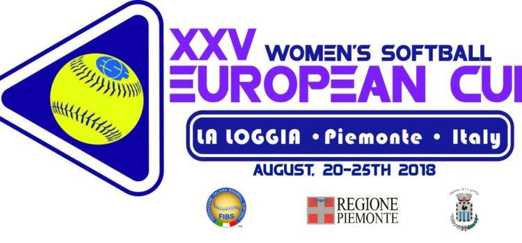 La società La Loggia softball organizzerà la XXV edizione della Women European Cup
